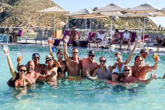 Breathless Cabo San Lucas Resort & Spa: Our Crew at the Pool
