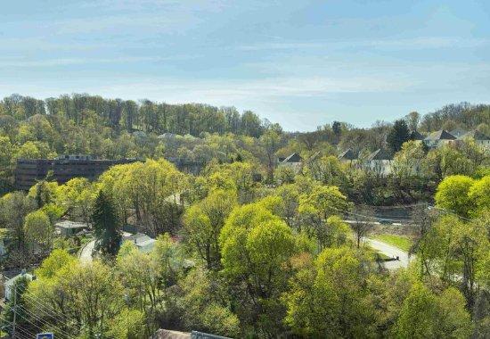 West Conshohocken, Pensilvania: West Philadelphia View From Guest Room