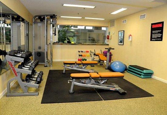 Fitness center weight room billede af marriott tulsa