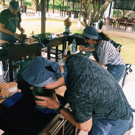 Saraphi, Tailandia: Cooking