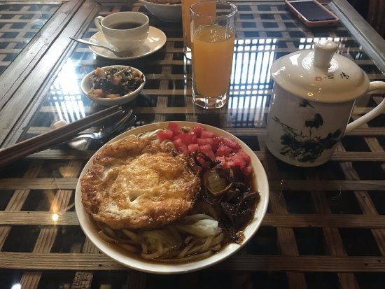 Old Theatre Inn: Our traditional Chinese breakfast