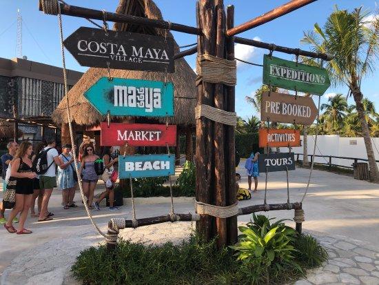 Costa Maya Port Photo