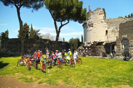 3-stündige Fahrradtour: Via Appia in...