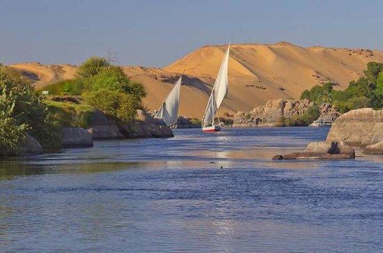 Nil-Felukenfahrt in Luxor