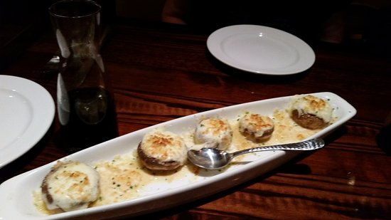 LongHorn Steakhouse: Roasted White Cheddar Stuffed Mushrooms