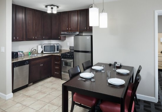 Two Bedroom Suite Kitchen Picture Of Towneplace Suites Columbia Southeast Fort Jackson