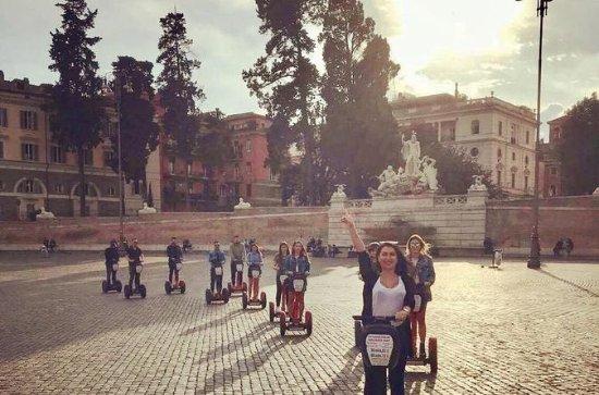 Villa Borghese y el centro de la...