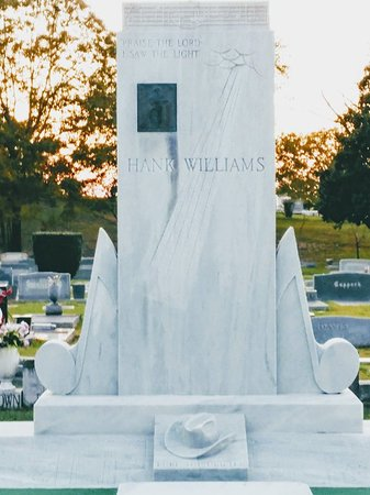 Hank Williams Memorial - Oakwood Annex Cemetery Photo
