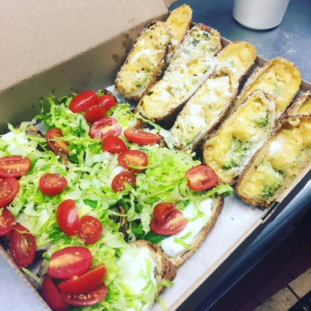 Meggrolls: Catering for an office lunch today!