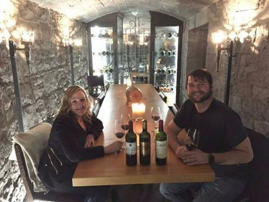 Ashford Castle: Wine Cellar under the Castle
