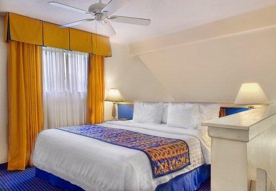 Two Bedroom Bi Level King Suite Loft Obr Zek Za Zen Residence Inn Charlotte South At I 77