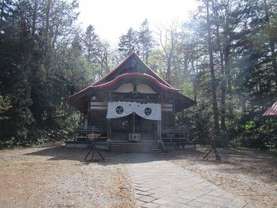 Tokachi Shrine: 本殿の様子