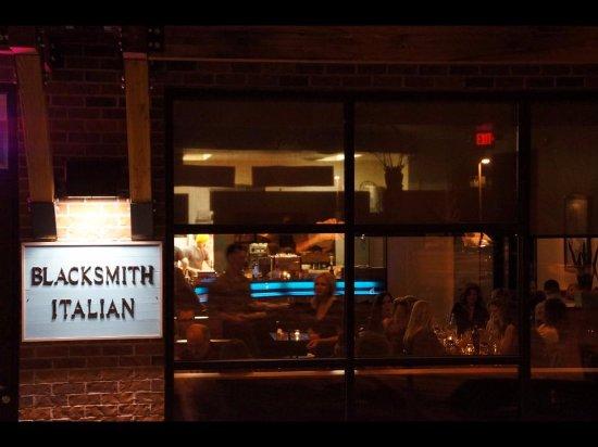 BLACKSMITH ITALIAN: Bistro style dining