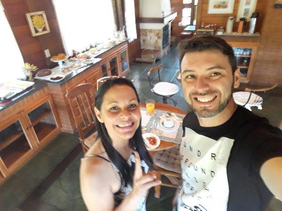 Pousada Villa Monte Verde: Pousada simplesmente maravilhosa e aconchegante ,pessoal super atencioso,café da manhã maravilho