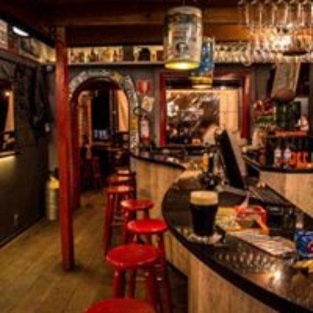 Bikers Pub: Interior do pub sem frescura