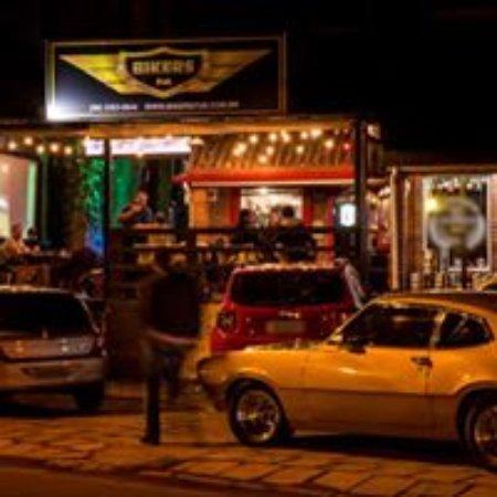 Bikers Pub: Deck  ao ar llivre