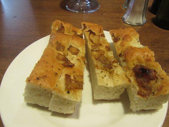 Foccacia Bread, Garre Vineyard and Winery, Livermore, CA