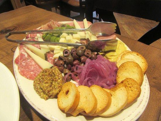 Garre Vineyard and Winery: Antipasto Platter, Garre Vineyard, Livermore, CA