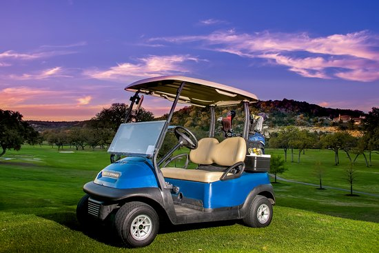 Tapatio Springs Hill Country Golf Course: Golf Carts