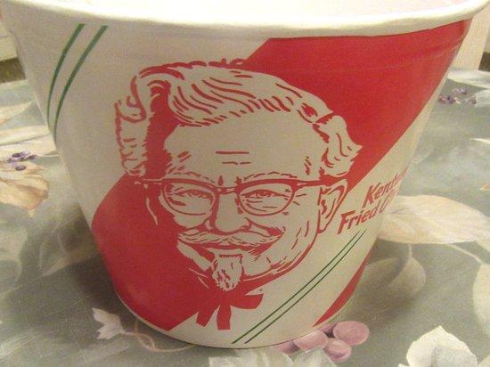Barrel of Chicken, KFC, Milpitas, CA