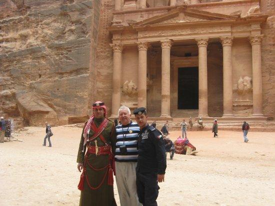 Petra: главная площадь. петра.
