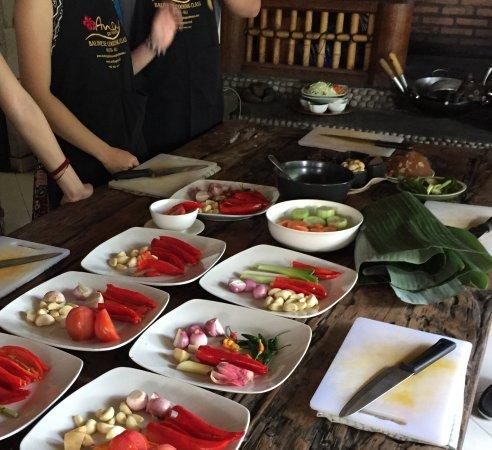 Tuban, Endonezya: All the ingredients