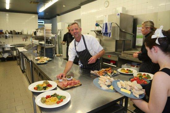 Eat at Whalers restaurant: Chef Allister Parker