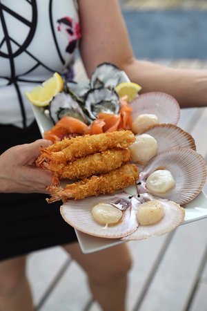 Eat at Whalers restaurant: Seafood delight