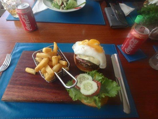 Rabaul - Kokopo Dive: lunch at the resort. omg so good!