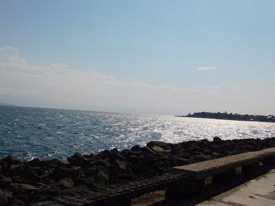 Alba Hotel: Widok morza podczas wycieczki do Nessebaru