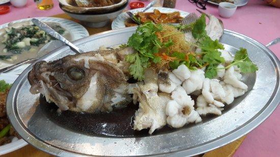 Restaurant Siew Ming: Steamed Garoupa - RM108.00