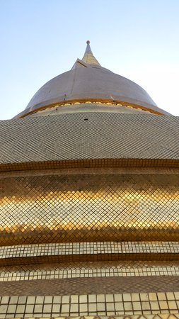 The Grand Palace: golden tiles
