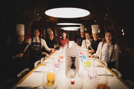 L'équipe du SteakClub Val Thorens