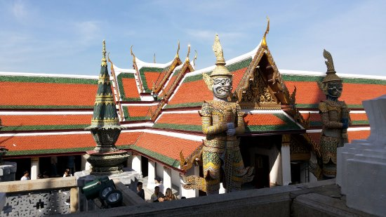 The Grand Palace: the demon guardians