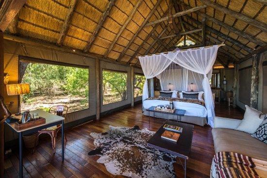 Wilderness Safaris Savuti Camp: Guest Tent at Savuti Camp