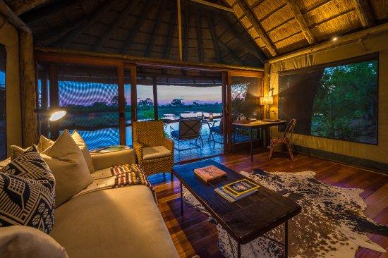 Linyanti Reserve, Botswana: Guest Tent at Savuti Camp