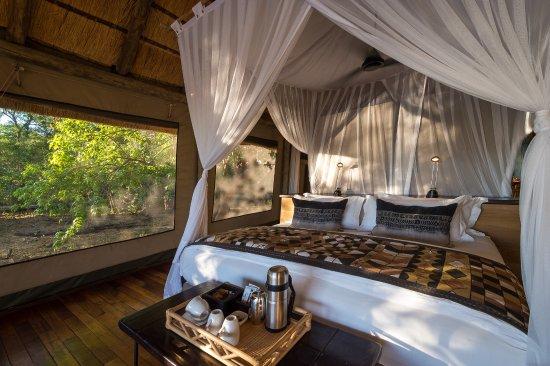 Linyanti Reserve, Botsuana: Guest Tent at Savuti Camp