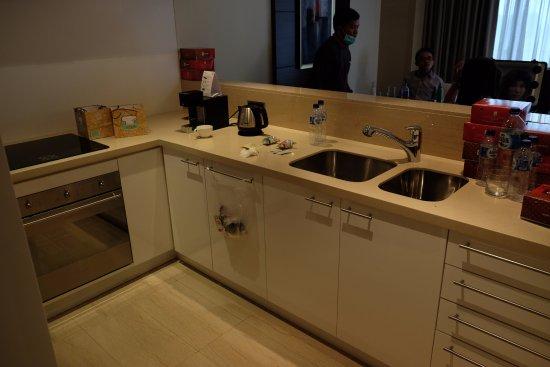 Sky Suite Apartment Kitchen Picture Of Fairmont Jakarta Tripadvisor