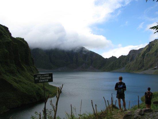 Capas, Philippines: Mt. Pinatubo crater lake