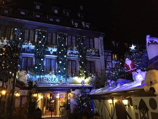 Decoration De Noel Exterieur Bild Von Hostellerie Le Marechal