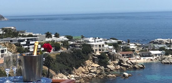 51 On Camps Bay Guesthouse: Sea View from decks