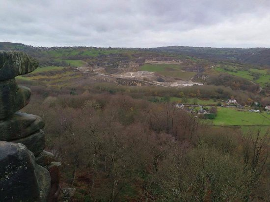 Cromford, UK: View from the top