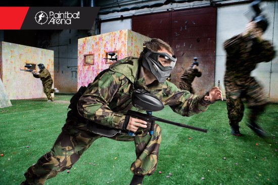 ‪Paintball Arena‬