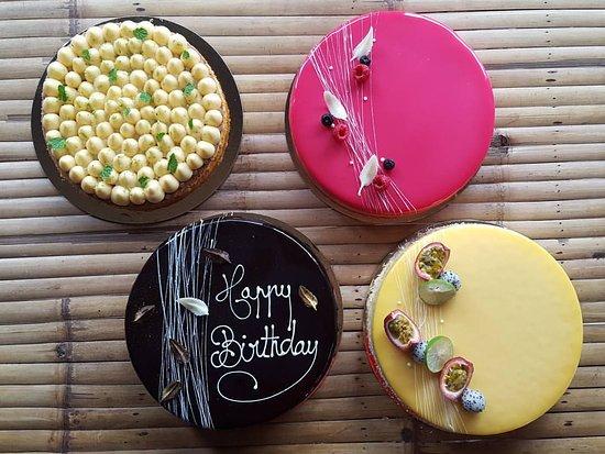 Pleasing Birthday Cakes Picture Of Mademoiselle Paris Ko Pha Ngan Funny Birthday Cards Online Alyptdamsfinfo