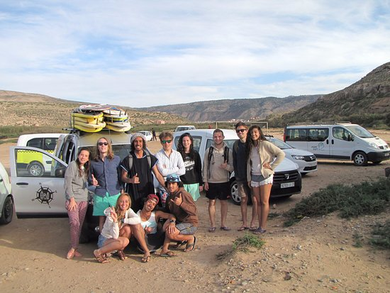 Taghazout, Morocco: Surf day trip with a really cool group!!