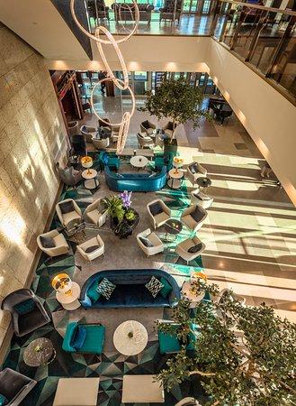 InterContinental Warszawa: Hotel lobby