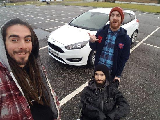 Dalwhinnie, UK: Friends