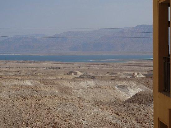 Massada Guest House : la vue ! et la découverte de la Mer Morte au réveil