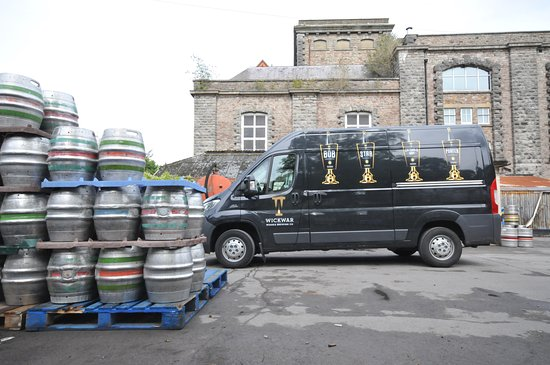 Wickwar, UK: Delivering premium ale, to our South West Heartland pubs...