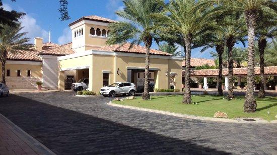 Nieuwpoort, Curazao: Hotel entrance